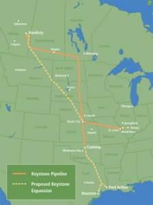 Keystone extension map