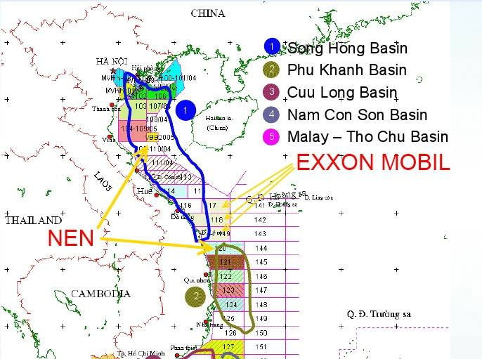 Exxonmobil Hits Gas In Phu Khanh Basin Offshore Vietnam