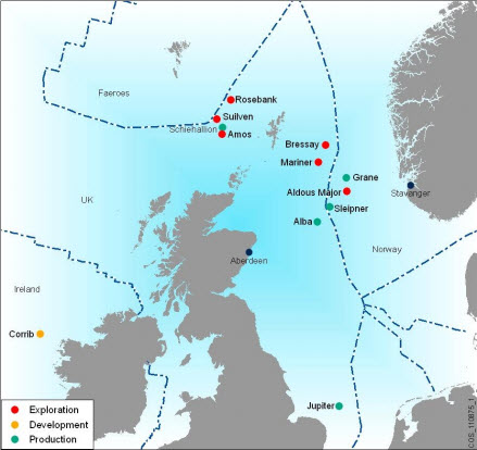 Statoil, Shell put concept for Bressay field on hold