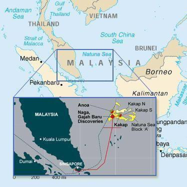 PTTEP to replace Petronas in Indonesia East Natuna Project