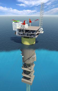 Statoil_Aasta_Hansteen_Technip_HHI_SPAR_hull