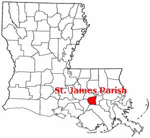 South_Louisiana_Methanol_St_James_Parish_Map