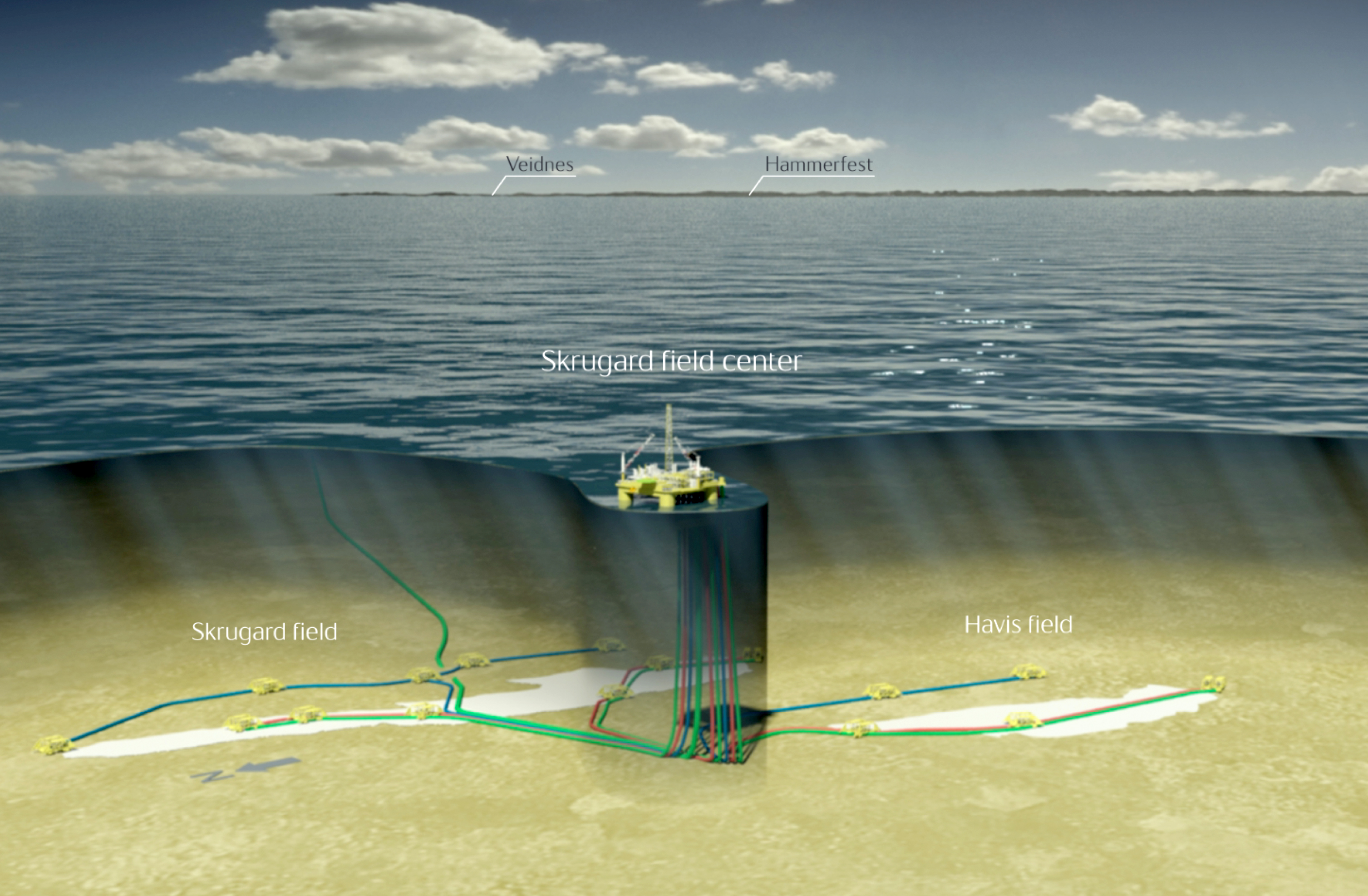 bressay field Statoil and shell considers all options to reduce costs for the development of the heavy crude oil offshore project, bressay, in the uk north sea.
