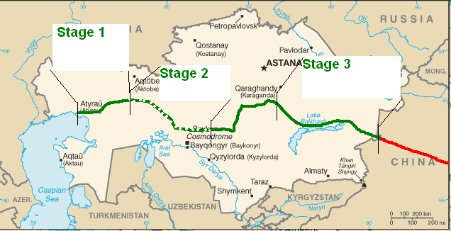CNPC_KMZ_Kazakhstan_China_First_Oil_Pipeline