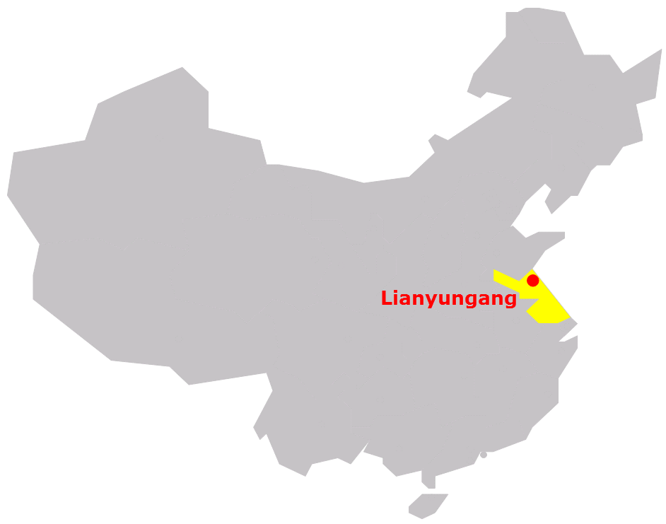 Jiangsu-Saiboat_Lianyungang_China_map