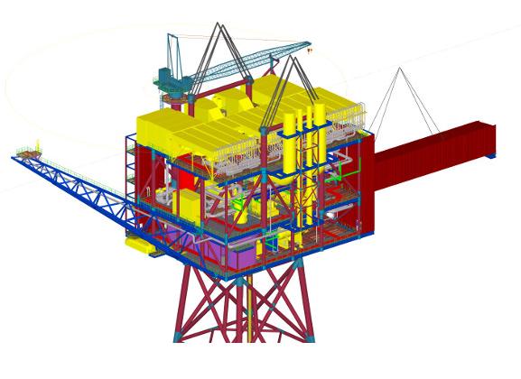 Heerema_Alba-B3_Gas_Compression_Platform_Equatorial-Guinea.