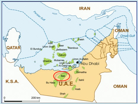 Shell_ADNOC_Bab_Sour_Gas_Development_Map