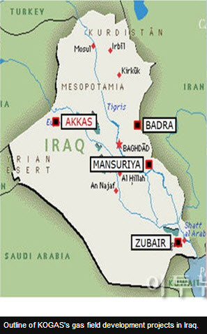 KOGAS to move ahead with Akkas gas field development in Iraq