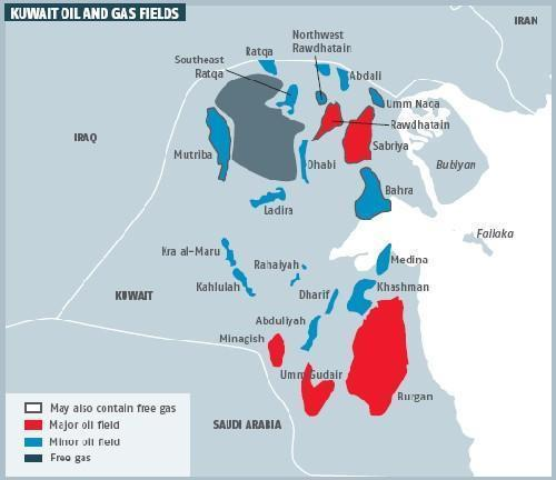 Kuwait_Oil_and_Gas_Fields_Map