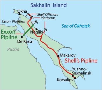 Rosneft_ExxonMobil_Sakhalin-LNG_project_map