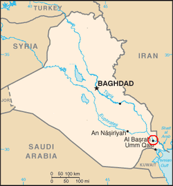 Iraq-SCR_Basra_Refinery_map