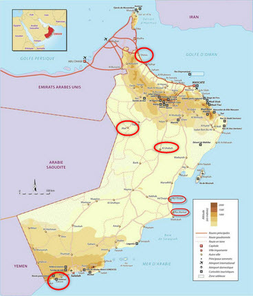 Oman-Gas-Company_Gas_LPG_NGL_Projects_Map