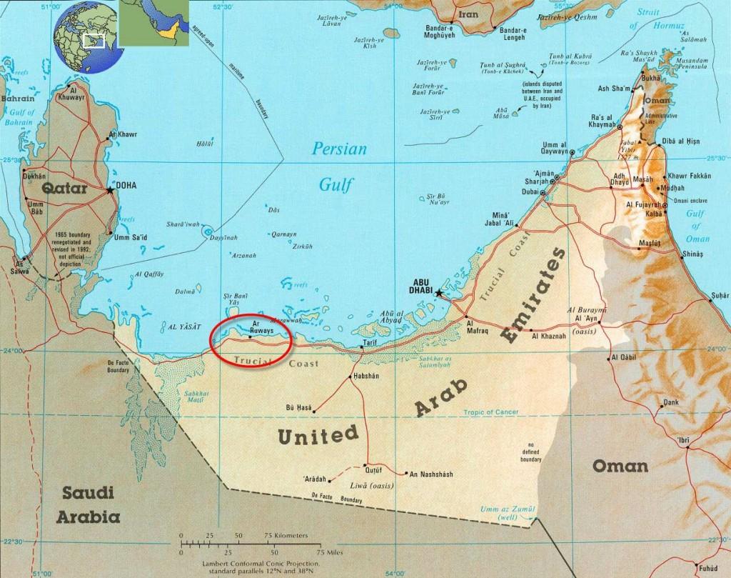 ChemaWEyaat_Indorama_Tacaamol_Al-Gharbia_Map
