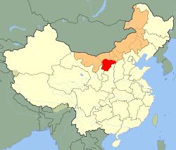 Sinopec_China-Coal_Ordos_CTO_Project-Map