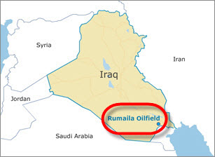 BP_Rumaila_Field_Development_Produced-Water-Re-Injection_Project_map
