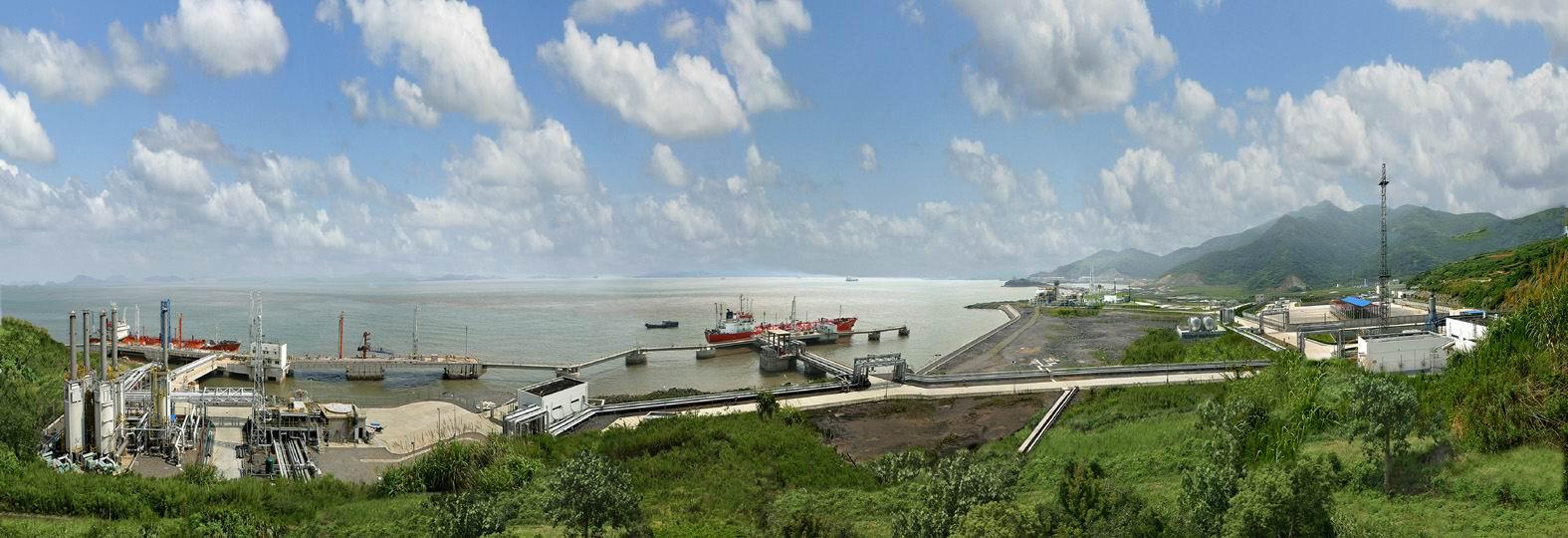 Oriental-Energy_UOP-Honeywell_Ningbo-Fortune_Propylene_Project_Site
