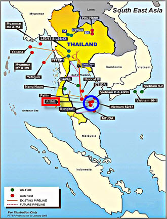 PTTEP_Arthit_South-Gas_Gathering_Platform_Thailand_Map