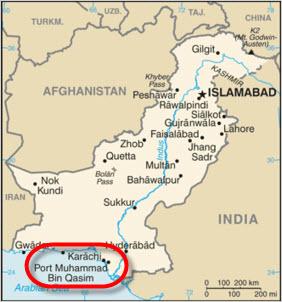 Sui_Southern_Gas_Company_Engro-Vopak_Port-Qasim_Pakistan_LNG_Terminal_Project_Map