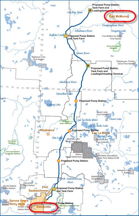 TransCanada_PetroChina_Phoenix_Grand_Rapids_Pipeline_Project_Map