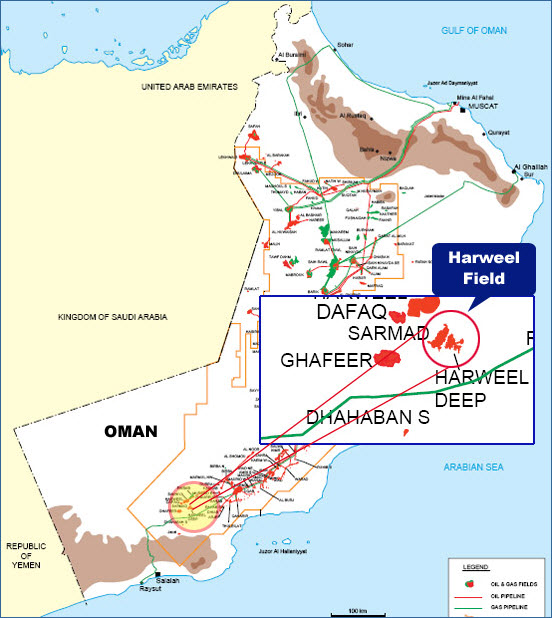 Petrofac won PDO Rabab Harweel Integrated Project in Oman