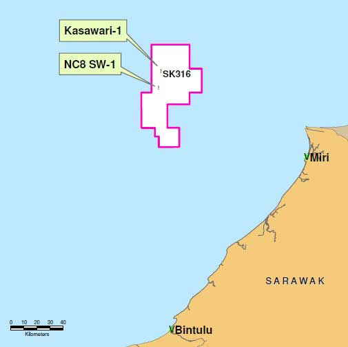 Petronas_Sarawak_Block-SK316-Kasawari_Platform_Competitive-FEED_Map