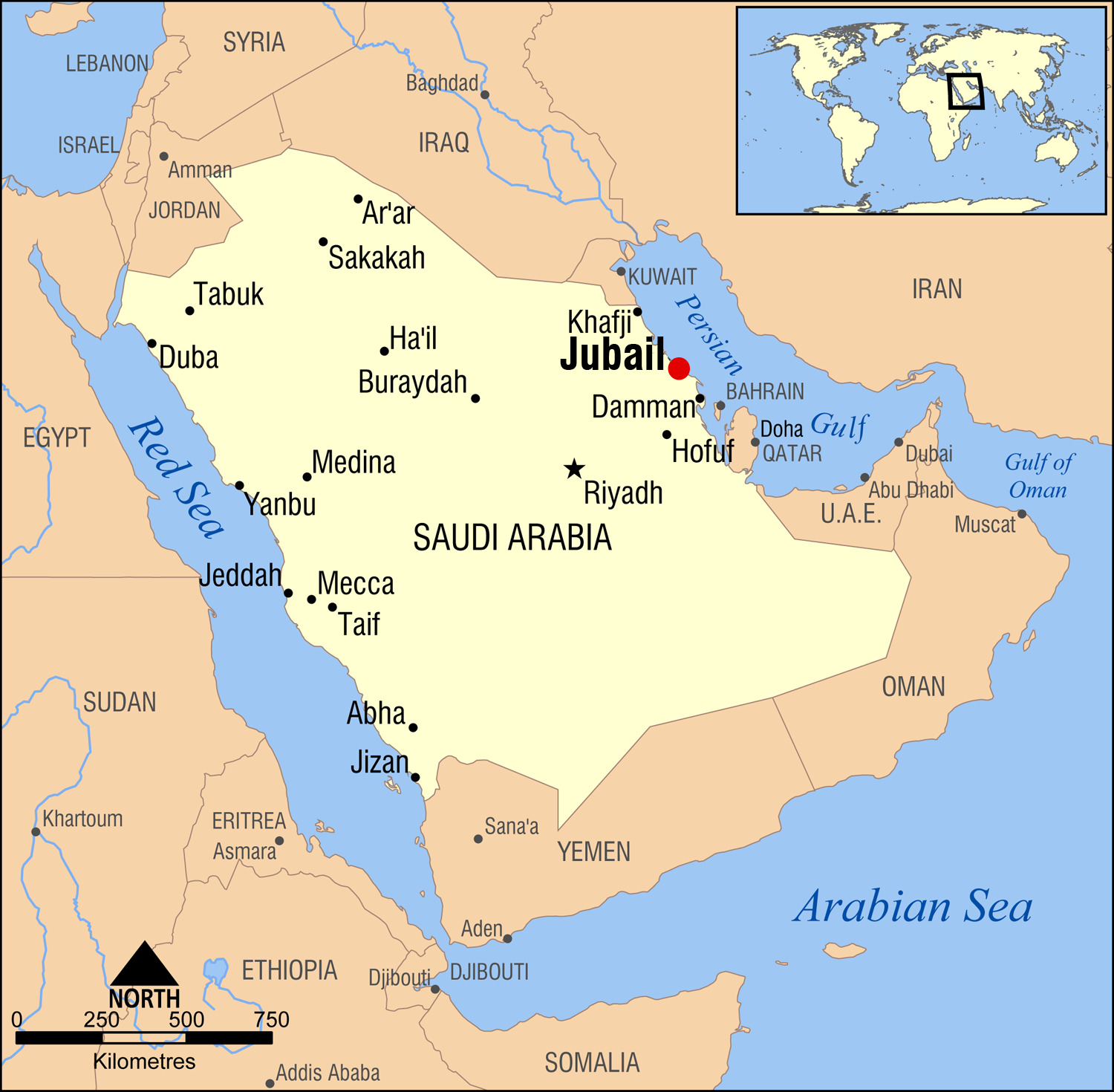 SABIC_Shell_Sadaf_Polyurethan_Al-Jubail_Expansion_KBR_FEED_Map