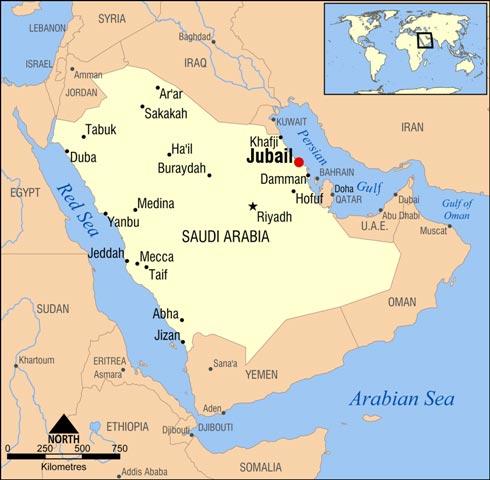 Sabic_Mitsubishi_Rayon_Al-Jubail_MMA-PMMA_Project_Map