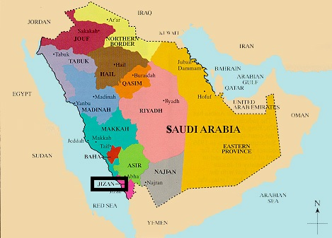 Saudi-Aramco_Jizan_Gasification_Map
