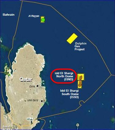 Qatar Petroleum and Oxy tender Idd-Al-Shargi North Dome Phase-5