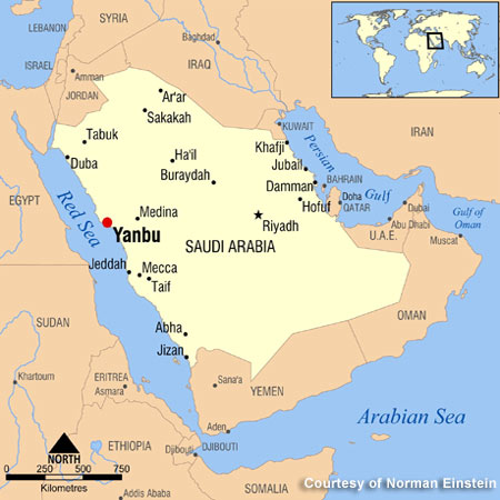 Sabic_Yanbu_Oi-To-Chemical_Complex_Map