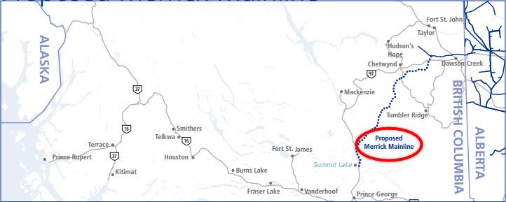 TransCanada_Merrick-Mainline-Pipeline-Project_to_Chevron-Apache-Kitiimat-LNG_Map2