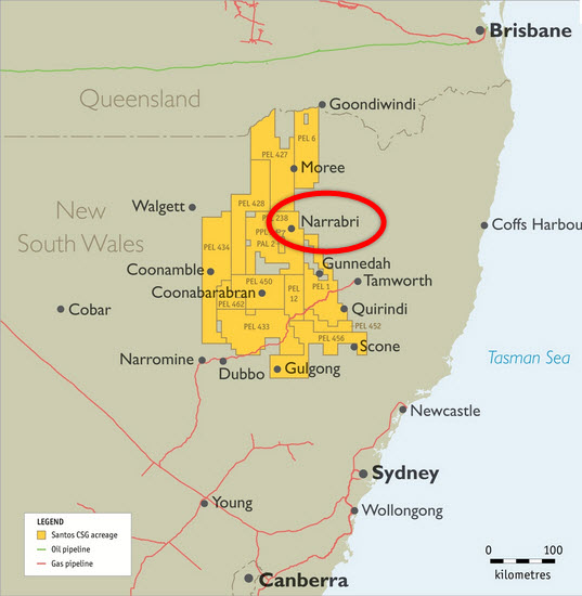 Santos_Narrabri_Gas_Project_New-South-Wales_Map
