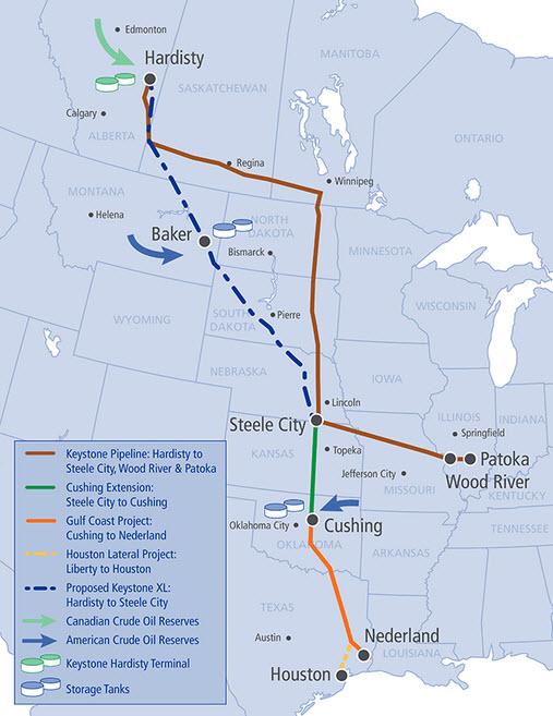 TransCanada_Keystone_XL_Pipeline_Project_Map