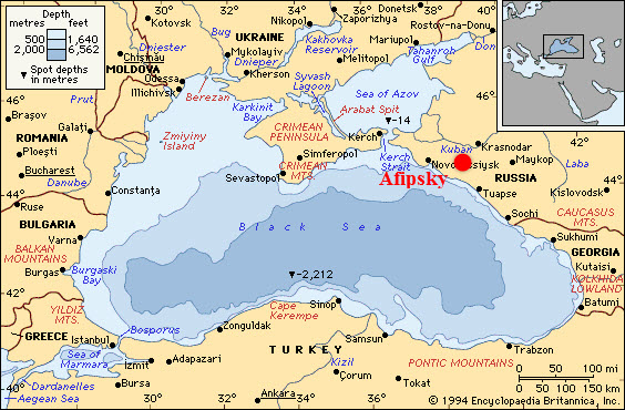 NefteGaz_Afipsky_Refinery_Expansion_Projects_Map