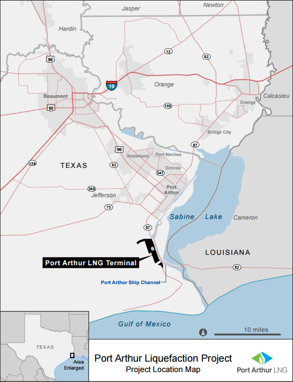Sempra_Texas_Port-Arthur-LNG_Project_Map