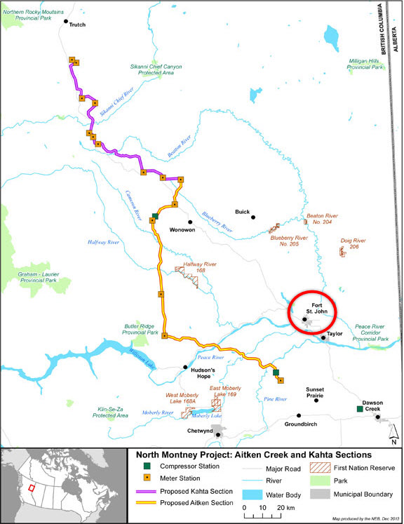 TransCanada_NOVA-Gas_North-Montney-Mainline-Pipeline-System_British-Columbia_Map